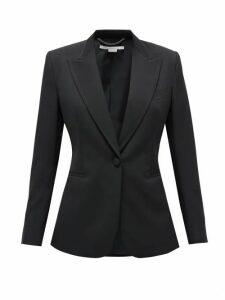 Stella Mccartney - Single-breasted Wool-twill Blazer - Womens - Black
