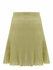 Jacquemus - Helado Cotton-blend Gauze Skirt - Womens - Green
