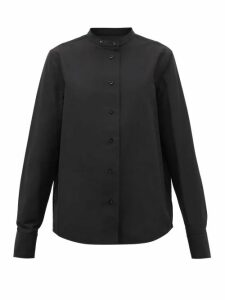 Jil Sander - Monday P.m. Cotton-faille Shirt - Womens - Black