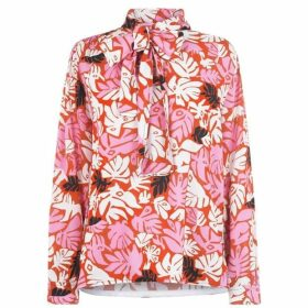 Marni Floral Bow Blouse