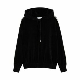 Ninety Percent Black Velour Sweatshirt