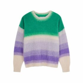 Isabel Marant Étoile Drussel Striped Mohair-blend Jumper
