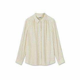 Jigsaw Linear Dash Silk Shirt