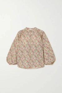 Vanessa Bruno - Nolan Floral-print Cotton Shirt - Cream