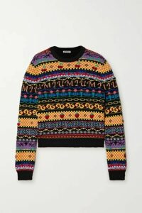 Miu Miu - Wool Sweater - Black
