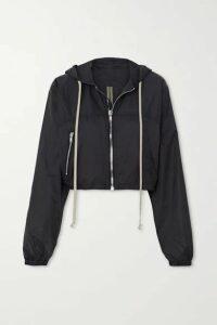 Rick Owens - Cropped Shell Jacket - Black