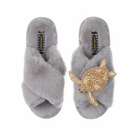 Orwell + Austen Cashmere - Bowie Sweater In Black & Pink