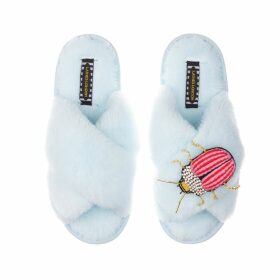 HASANOVA - Blue Sequin Blouse