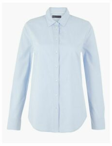 M&S Collection Cotton Rich Shirt