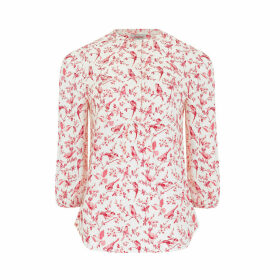 British Birds Yoke Detail Blouse