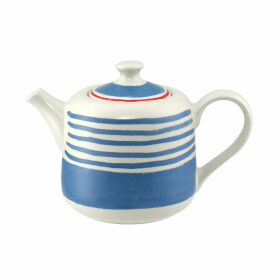 China Stripe Made in England Teapot