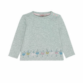 Ice Skaters Baby Long Sleeve Tshirt