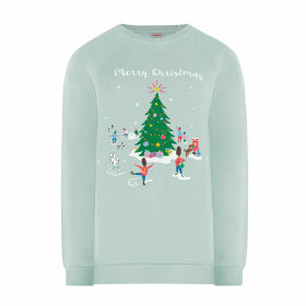 Christmas Village Nightwear Sweatshirt