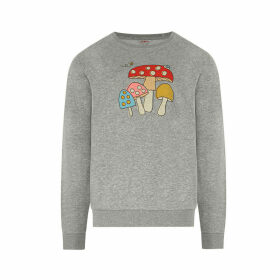 Mini Mushrooms Nightwear Sweatshirt