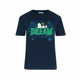 Snoopy Dream Midnight Stars T-Shirt