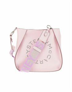 Stella McCartney Designer Handbags, Lilac Stella Logo Bag