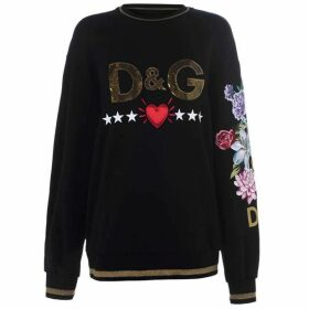 Dolce and Gabbana Embroidered Sweatshirt