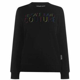 Versace Jeans Rainbow Logo Sweatshirt