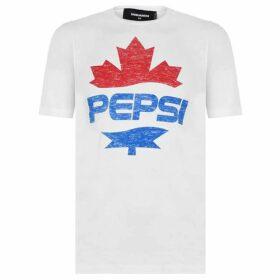 DSquared2 x Pepsi Pepsi Logo T Shirt