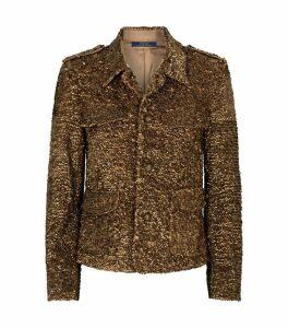 Sequin-Embellished Jacket