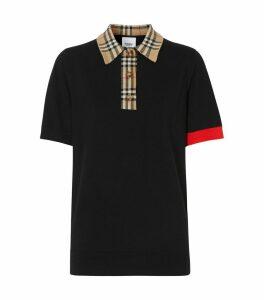 Vintage Check Polo Shirt