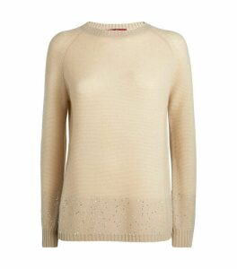 Cashmere-Wool Babele Sweater