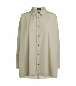A-Line Pleat Shirt