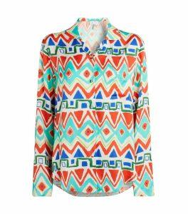 Geometric Pyjama Shirt