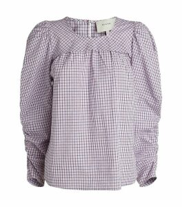 Eleanor Check Blouse