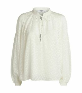 Long-Sleeved Peasant Top