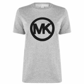 MICHAEL Michael Kors C Logo Flock T Shirt