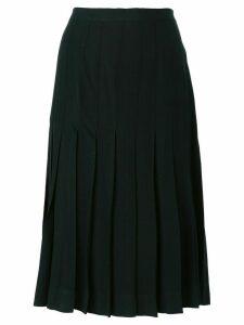 Yves Saint Laurent Pre-Owned pleated skirt - Black