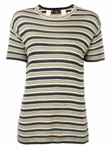 Fendi Pre-Owned 1990's knitted top - Black