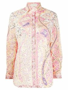 Etro abstract patterned shirt - PINK