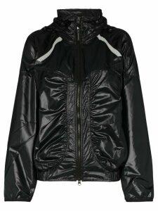 adidas x Stella McCartney hooded jacket - Black