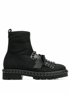 Kennel & Schmenger round studded boots - Black