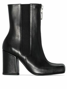 Roker Jacs 90 zip-up boots - Black