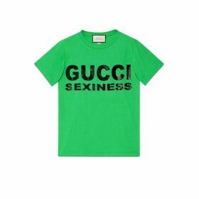 Women's Gucci Sexiness print T-shirt