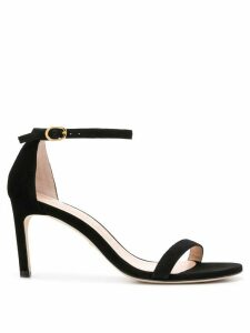 Stuart Weitzman NuNaked Straight 75mm sandals - Black