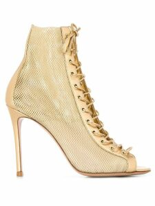 Gianvito Rossi Mekong 110mm pumps - GOLD