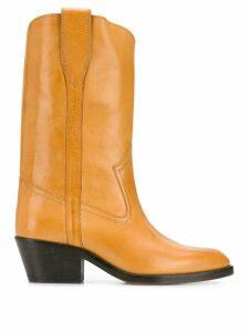 Isabel Marant Danta cone-heel boots - NEUTRALS