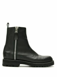 Reinaldo Lourenço X Manolita leather boots - Black