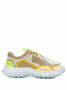 Camper geometric panel sneakers - NEUTRALS