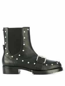Nº21 embellished biker boots - Black