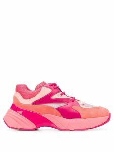 Pinko colour block sneakers