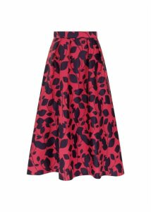 Hermione Skirt Midnight Cerise