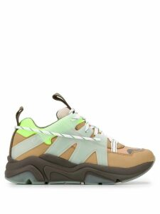 GANNI panelled chunky sneakers - NEUTRALS