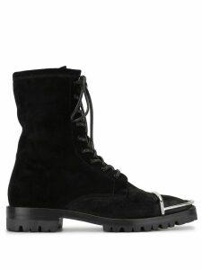 Alexander Wang Kennah suede boots - Black