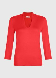 Aimee Top Red