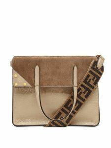 Fendi Fendi Flip shoulder bag - NEUTRALS